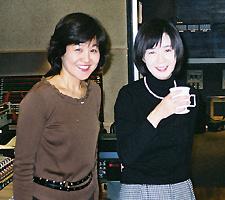 大島さん(右)とツーショット