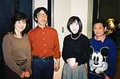 ヴァイオリン:篠崎正嗣さん(左2)A.ピアノ:美野春樹さん(右1)